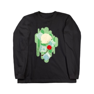 フォーリングクリームソーダ Long sleeve T-shirts