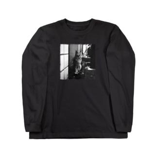 冬猫さん Long sleeve T-shirts