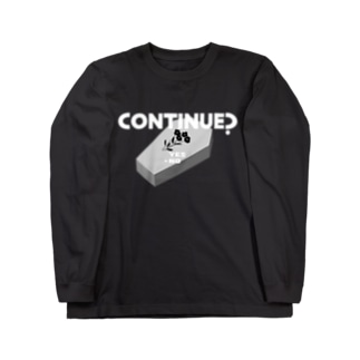 CONTINUE? (Type B) Long sleeve T-shirts