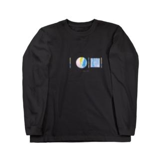 「AWAI KO I」SUZURI限定アイテム / 002 (文字白色) Long sleeve T-shirts