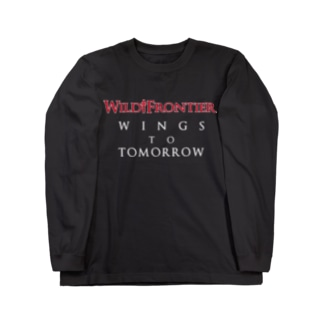 WILD FRONTIER-WINGS Long sleeve T-shirts