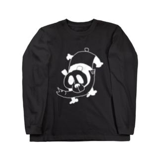 魚パンダ Long Sleeve T-Shirt