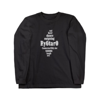 Ry0tar0_black Long sleeve T-shirts