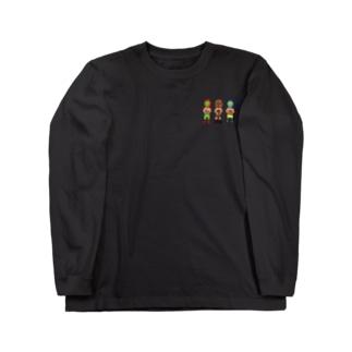 チマホマレスラー Long sleeve T-shirts