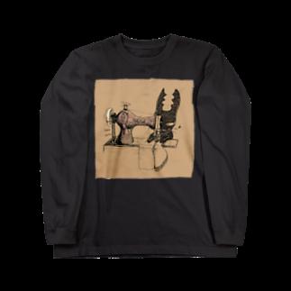 FINCH LIQUEUR RECORDSのクワガタウサギとみしん Long sleeve T-shirts