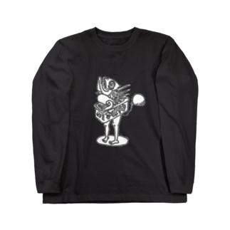 Exact Miscellaneousの蒲焼きboyロゴなし Long sleeve T-shirts