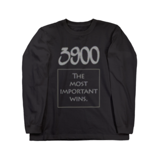 wlmのPOINTS 3900 Gray Long sleeve T-shirts