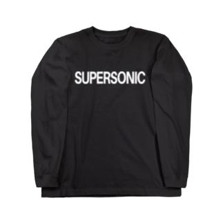 スーパーソニック Long sleeve T-shirts