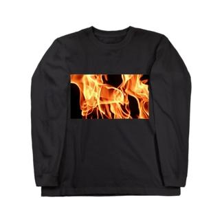 炎中 Long sleeve T-shirts