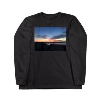 きくらげちゃんの眠り Long sleeve T-shirts