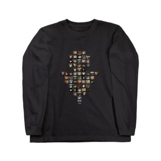 男子トイレ Long sleeve T-shirts