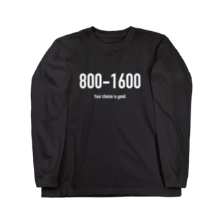wlmのPOINTS 800-1600 Long sleeve T-shirts