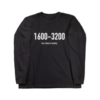 wlmのPOINTS 1600-3200 Long sleeve T-shirts