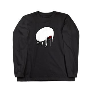 休憩中 Long sleeve T-shirts