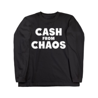 CASH FROM CHAOS Long sleeve T-shirts