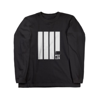 PEELER-08(WT) Long sleeve T-shirts
