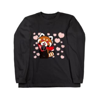 YSパンダ・ラブラブ Long sleeve T-shirts