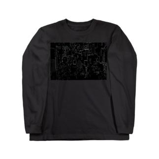 エダ Long sleeve T-shirts