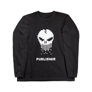 パブリッシャー Long sleeve T-shirts