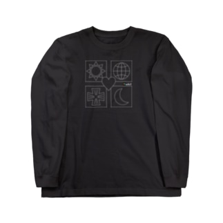 ユニバース 白線 Long sleeve T-shirts