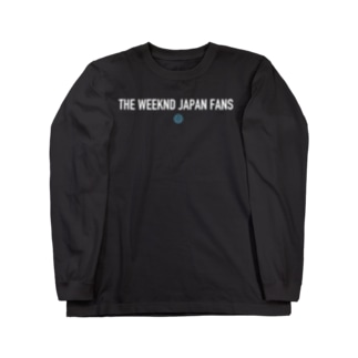 THE WEEKND JAPAN FANS オリジナル Long sleeve T-shirts