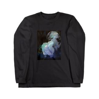 鍾乳洞の妖精 Long sleeve T-shirts