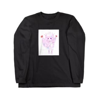 【愛の哀】 Long sleeve T-shirts