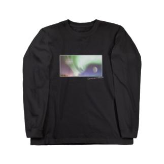 【開運】木星・水星・オーロラ Long sleeve T-shirts