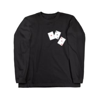 トランプテディシリーズ Long sleeve T-shirts