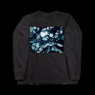 aのfloat Long sleeve T-shirts