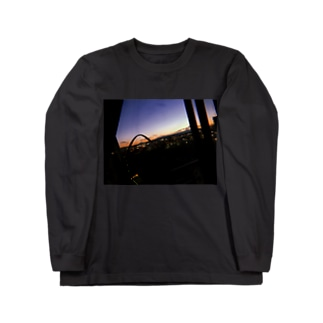 橋夕空 Long sleeve T-shirts