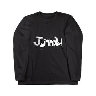 手書きオリジナル2 Long sleeve T-shirts