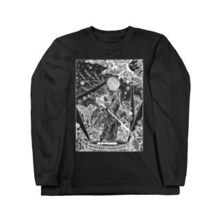 アメノウズメ(W) Long sleeve T-shirts