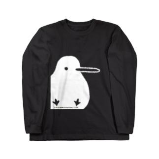 でっかいキキちゃん(濃色用)  Long sleeve T-shirts