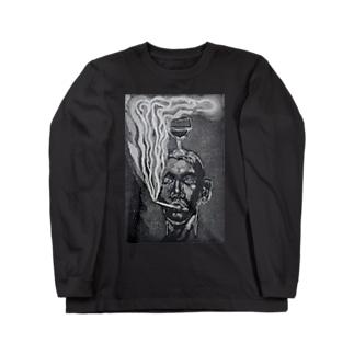 smoker Long sleeve T-shirts