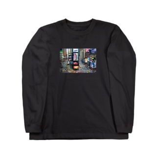 ゆけむりアトリエ Long sleeve T-shirts