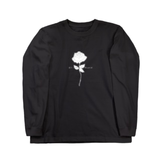 All_living_to_thoseの薔薇 Long Sleeve T-Shirt