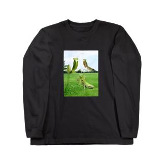 カマキリtee in2018 Long sleeve T-shirts