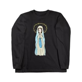 祈る女の子 Long sleeve T-shirts