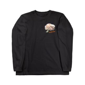 マルスとおーちゃん Long sleeve T-shirts