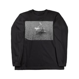 青姦(モノver) Long sleeve T-shirts