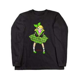 ロカビリーガールⅡ【green】 Long sleeve T-shirts