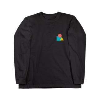 マルサンカクシカク Long sleeve T-shirts