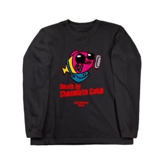 DEATH by CHOCOLATE CAKE Long sleeve T-shirts