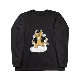 卍よろしくにゃんこ卍 Long sleeve T-shirts