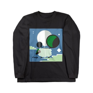 羊のTシャツ Long sleeve T-shirts