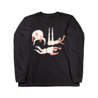 千本のノック! Long sleeve T-shirts