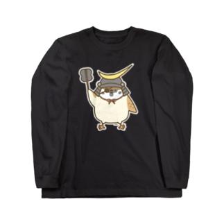 伊達政宗すずめさん Long sleeve T-shirts