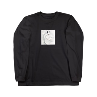 """Child Leaning on His Elbow"" L/S Tee Long sleeve T-shirts"
