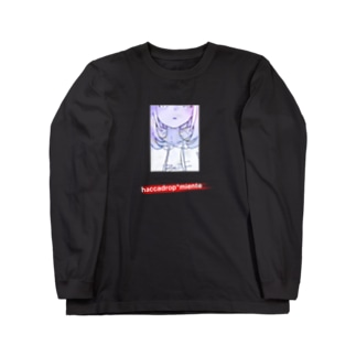 haccadrop* x miente 2019S M3 Limited Box Logo Long sleeve T-shirts